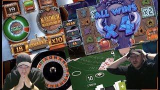 WHEN A BONUS HUNT GOES WRONG!! Online Slots, Roulette & Blackjack Session!