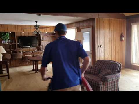 Cleaning at a former vacation townhome of Bud Grant, MN Vikings coach
