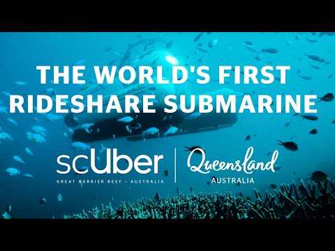 Meet scUber: The World's First Rideshare Submarine on the Great Barrier Reef