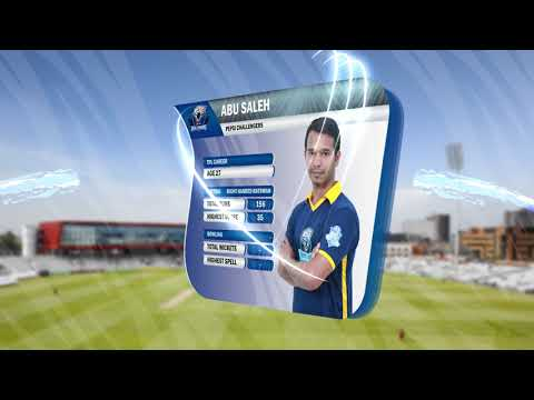Pepsi Challengers Cricket Team Score Animation | Created By: Msu Rubel