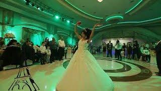 رقص جميل لعروس على اغنية يا ليلي ويا ليلة في حفل زفافها