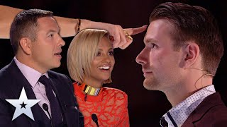 Unforgettable Audition: Richard Jones SHOCKS Judges with MIND-READING magic! | Britain's Got Talent
