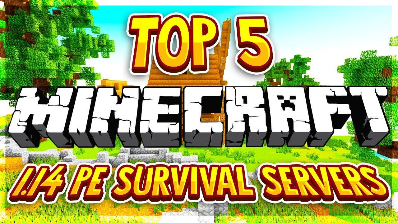 TOP 8 OP SURVIVAL SERVERS MCPE 8.84+ 8 [HD] (New Big Minecraft Servers)