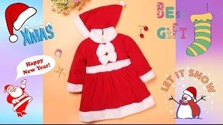 Детский Aliexpress. Распаковка и обзор новогоднего костюма Aliexpress.