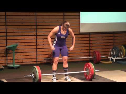 Nina Schroth Stoßen 95kg