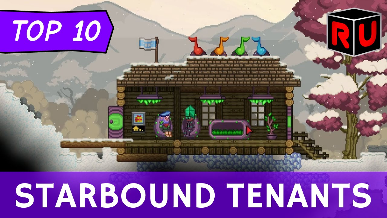 Top 10 Starbound Colony Tenants & How to Attract Them!