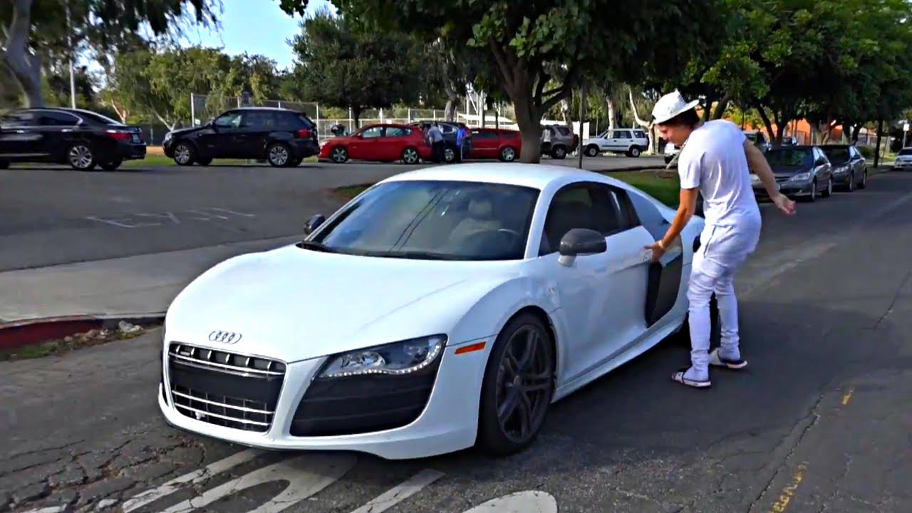 Exotic Car Ride In The Hood Youtube