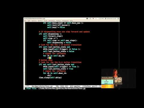 Katherine Scott: Hello Physical World: A Crash Course on the Internet of Things - PyCon 2014