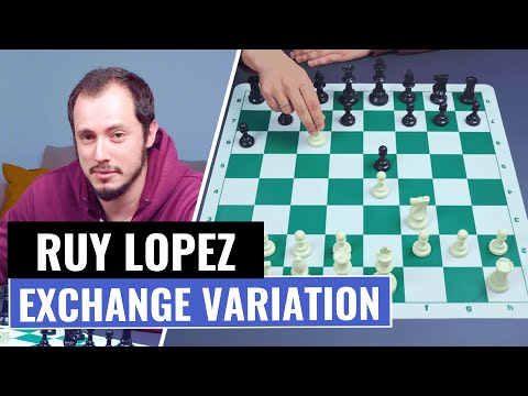 The Ruy Lopez | Exchange Variation | Chess Openings | IM Andrey Ostrovskiy