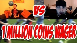 INSANE 1 MILLION COIN WAGER VS MATTHDGAMER - FIFA 14