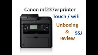canon mf237w printer review & unboxing //how to install cannon printer mf237w step by step
