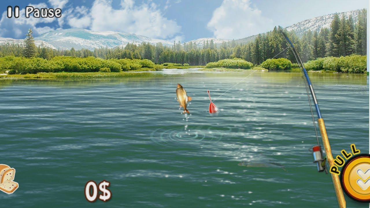 Fishing river monster android hd gameplay trailer game for River fishing games