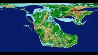 Continental Drift -  Scotese Animation