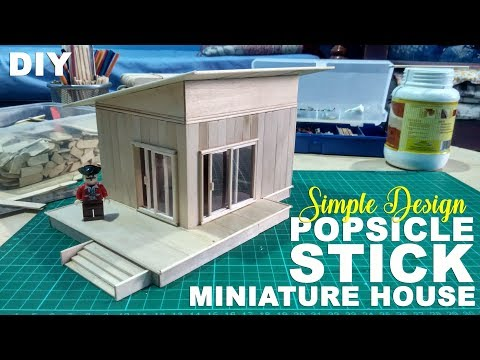 Popsicle Stick Miniature House Tagged Videos On Videoholder