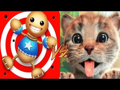 Kick The Buddy Vs Little Kitten My Favorite Cat - Buddy Vs Kitten Cat Animation Games For Kids