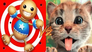 Kick The Buddy Vs Little Kitten My Favorite Cat - Buddy Vs Kitten Cat Animation Games For Kids