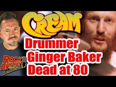 Steve Knoll - Cream Drummer Ginger Baker Dies at the Age of 80