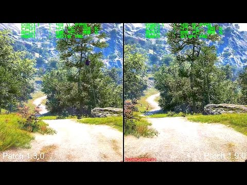 Far Cry 4 Patch 1.3.0 Vs Patch 1.9.0 Frame Rate Comparison