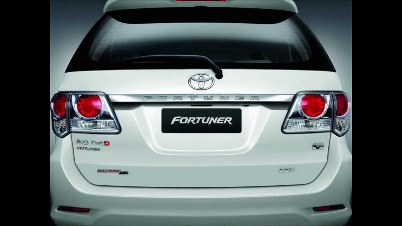 2012 Toyota Fortuner Car In India Youtube