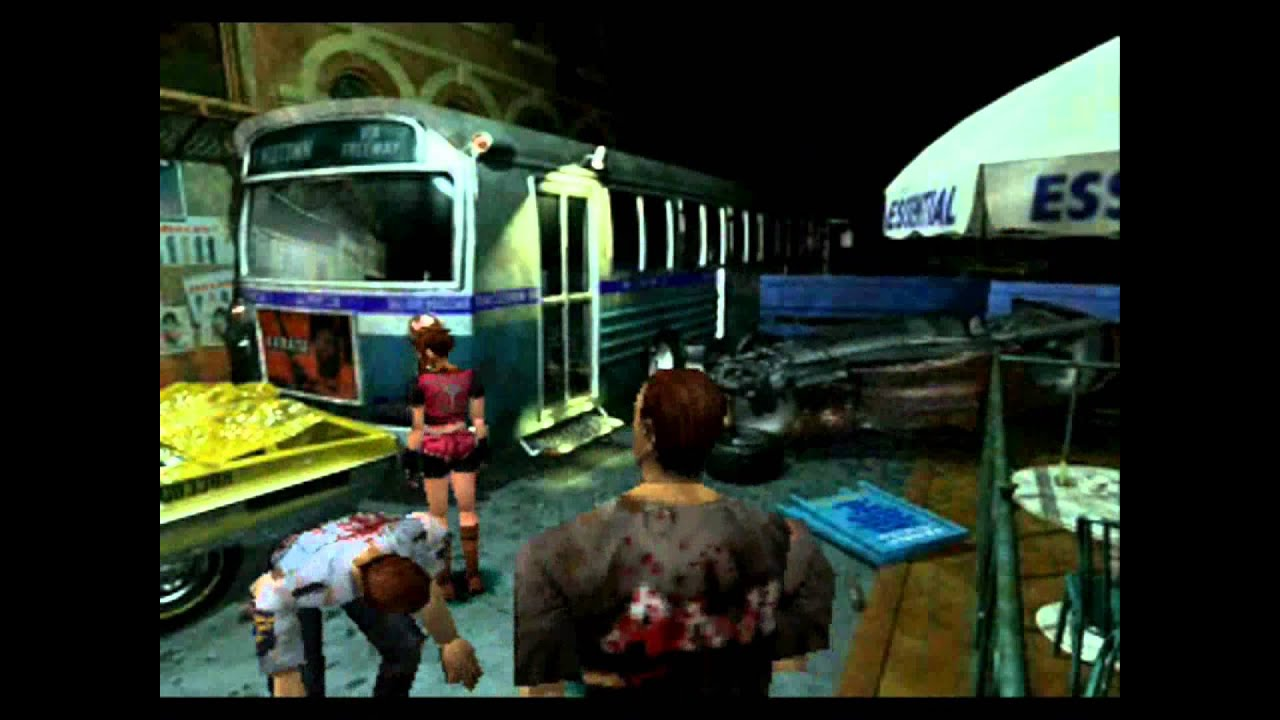 Image result for resident evil 2 ps1