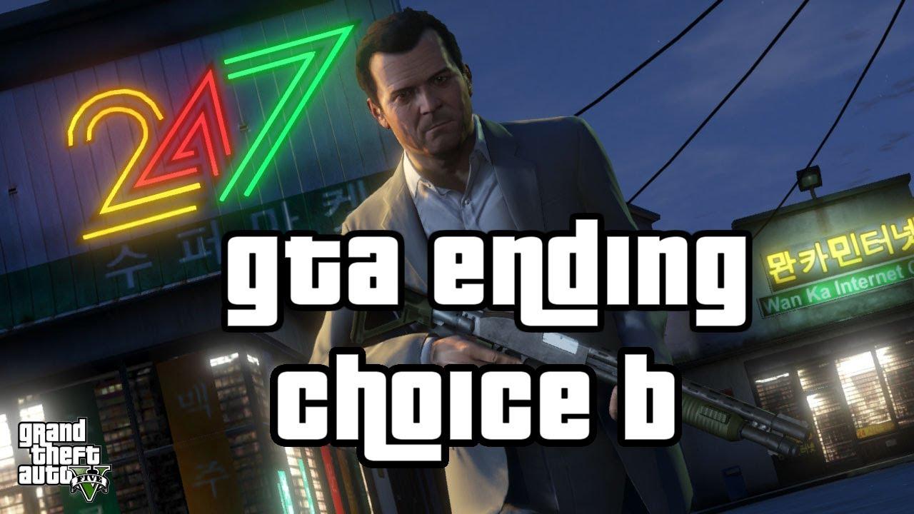 GTA V Alternate Ending  