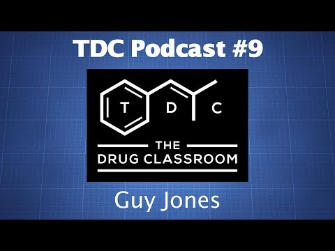 TDC Podcast 9 - Guy Jones on Drug Checking, Research Chemicals, & More