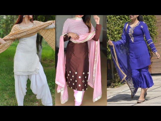 Beautiful salwar kameez for punjabans || latest Punjabi Suit Designs || Kaur Trends