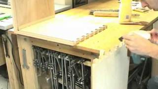( Woodworking Howto ) - Oak Blanket Chest - Part 1 (of 3).flv