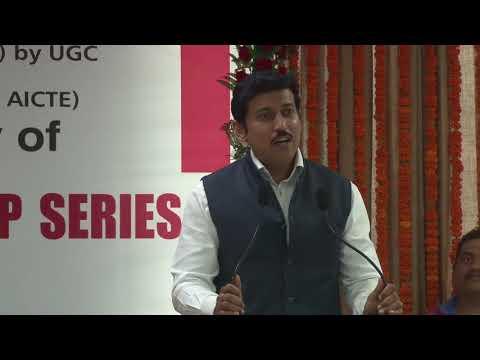 Col. Rajyavardhan Singh Rathore Full Speech @ VIPS (a leadership series, 2017)