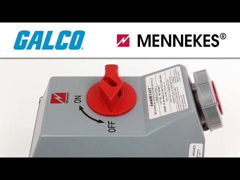 Mennekes' LockOUT-LET Switched And Interlocked Receptacles