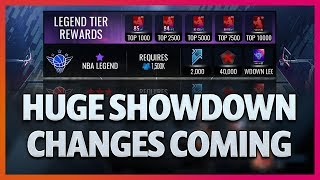 Preview of the Huge Showdown Changes Coming Soon! - NBA LIVE Mobile