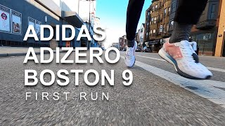 Adidas Adizero Boston 9 - First Run