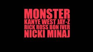 Monster Nicki Minaj Verse Lyrics