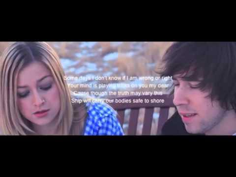 little talks - julia sheer lyrics on screen
