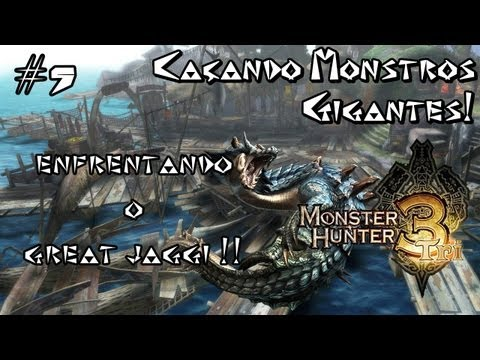 Caçando Monstros Gigantes !! - # 5 -  MH3 - Enfrentando o Great Jaggi !! Travel Video