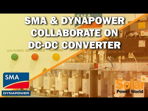 SMA and Dynapower collaborate on DC-DC converter