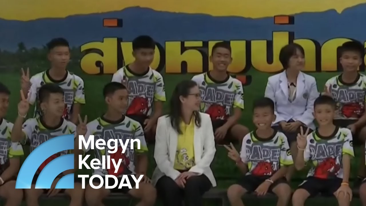Savannah Guthrie Joins Megyn Kelly TODAY To Discuss The Thai Cave Rescue | Megyn Kelly TODAY