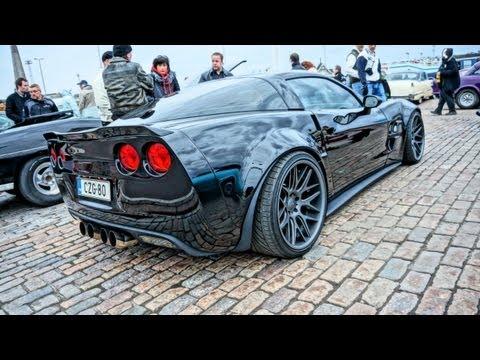 700hp ZR6X Extreme Wide Body Corvette C6 - SOUND!