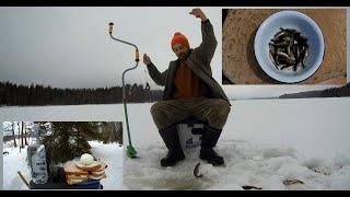 Рыбалка на Удачном озере в Карелии где всегда будешь с вкусной Ухой