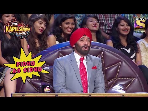 Sunil Grover aka Pidhu As Navjot Singh Sidhu – The Kapil Sharma Show