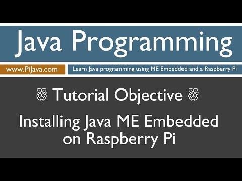 Java Programming on Raspberry Pi - Installing Java ME Embedded