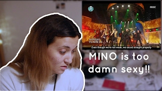 mino x haha shoot infinite challenge reaction requested