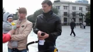 Местные жители Ялты о присоединении Крыма к России.