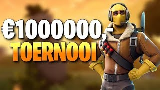 GEWONNEN IN €1.000.000 WINTER ROYALE! - Fortnite Battle Royale (NL)