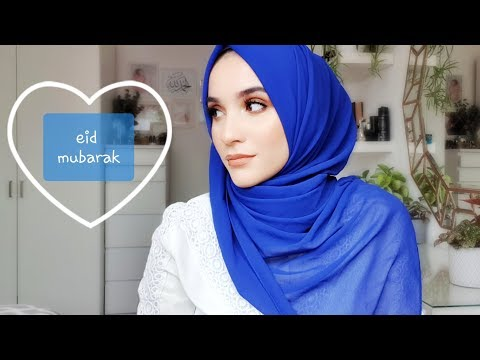 EID MAKEUP AND HIJAB TUTORIAL