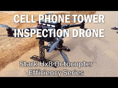 Carrier Hx8 UAV - Cell Tower Inspection Drone w/ LIDAR