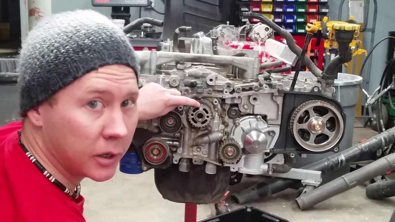 Subaru Part 1 Timing Belt And Head Gasket Replacement Tear Down Youtube