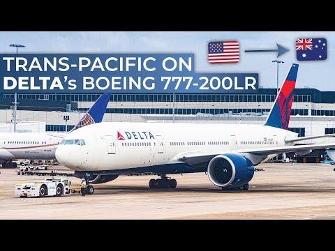 TRIPREPORT | Delta (ECONOMY) | Boeing 777-200LR | Los Angeles - Sydney