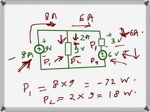 Electrical Engineering: Current/Voltage/Power (problem example)