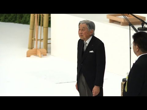 Japan emperor expresses WWII 'remorse' as PM avoids war shrine